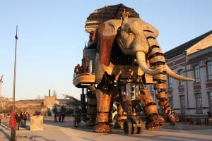 A Gigantic Elephant Robot and a Dragon named Long Ma – The coolest things I have seen thus far