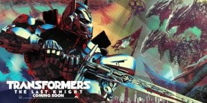 The First Poster For Transformers: The Last Knight Has Dragons In It
