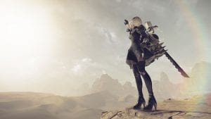 "NieR: Automata ""Cypress Stick"" Dragon Quest & ""The Engine Blade"" Final Fantasy 15 Collaboration Trailer"
