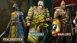 For Honor Introduces 3 New Classes –  Peacekeeper, Warlord & Shugoki In Their Latest Trailers