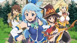 Check Out Konosuba Season 2's New Artwork – Scheduled To Air January 11th