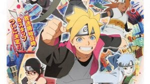 New Boruto TV Anime Key Visual – Airs April 5th