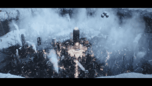 "Frostpunk Trailer: ""Whiteout"" – A New Game By The Creators of This War of Mine."