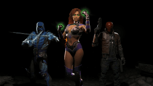 Injustice 2 – Fighter Pack 1 Reveals Starfire, Sub-Zero & Red Hood