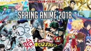 My Top 5 Spring Anime Of 2018