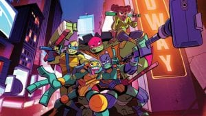 "I Love The New ""Rise of the Teenage Mutant Ninja Turtles"" Theme Song Intro"