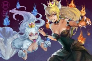 #Bowsette VS #Boosette – Vote For Your New Princess! Heck, Allegedly Even Nintendo Has Thought Of It!