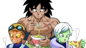 You Know, I'd Be Down For A Broly, Cheelai & Lemo SPIN OFF Series!