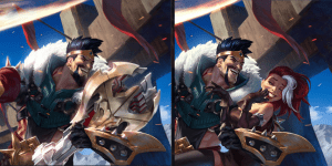 League of Legends' Display Made Some Rather Odd Censorships/Alterations To Some Of Their Wallpapers!